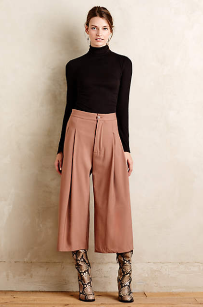 Gauchos or Wide Leg Crops?